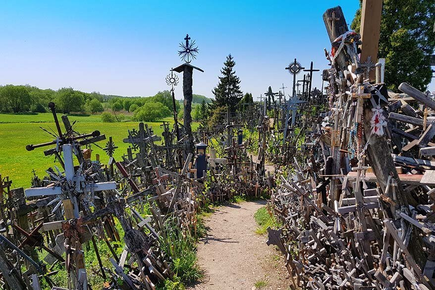 Hill of Crosses - one of the best things to do in Lithuania