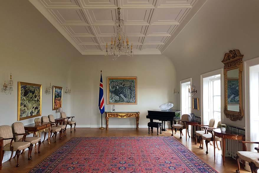 Interior of Iceland President's House