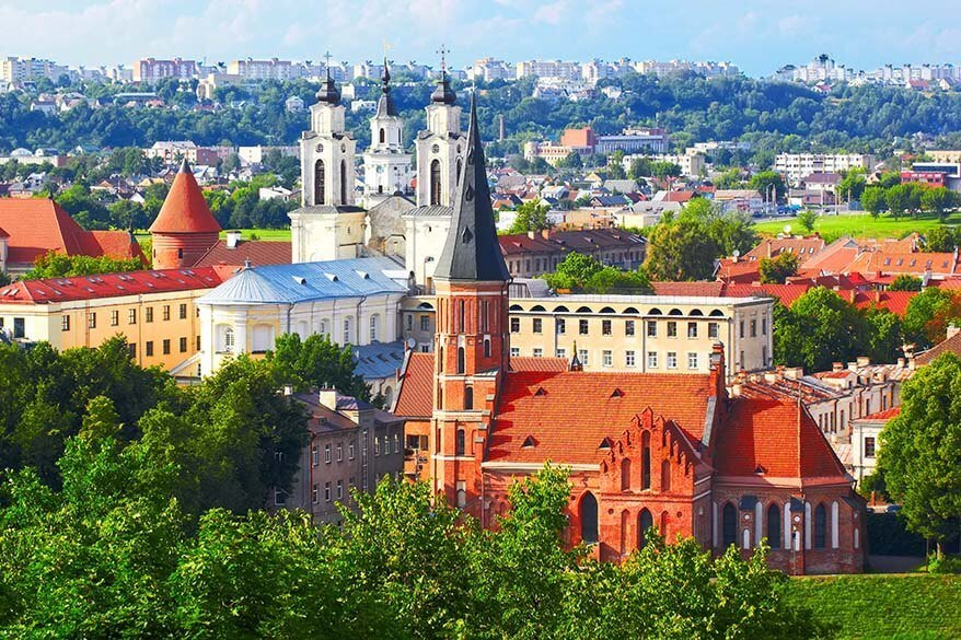 Kaunas is one of the best towns to visit in Lithuania