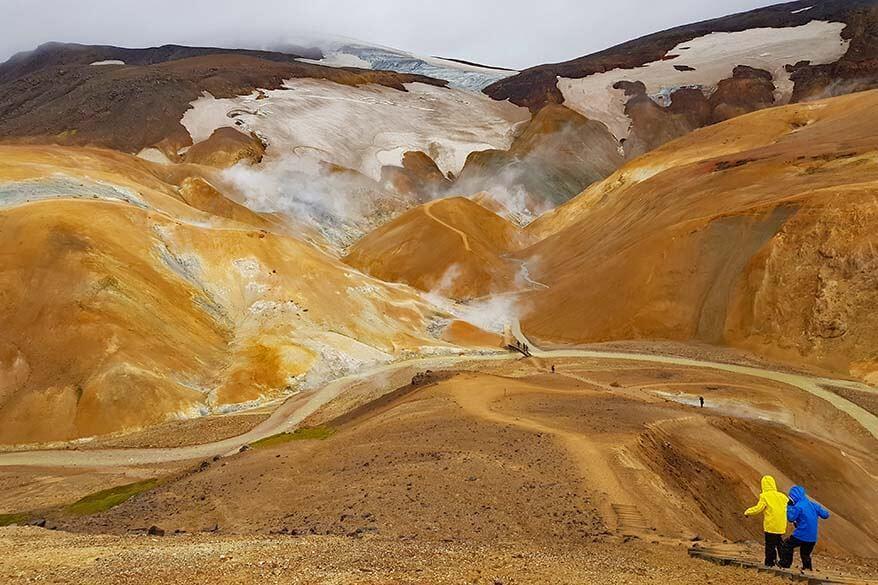 Kerlingarfjoll in Iceland