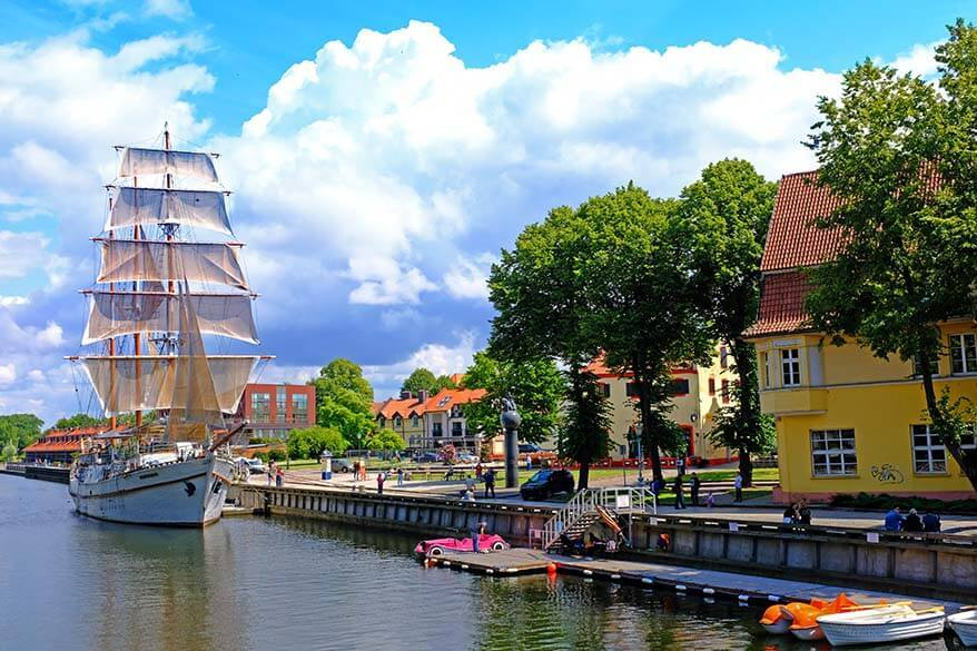 Klaipeda is one of the best towns to see in Lithuania