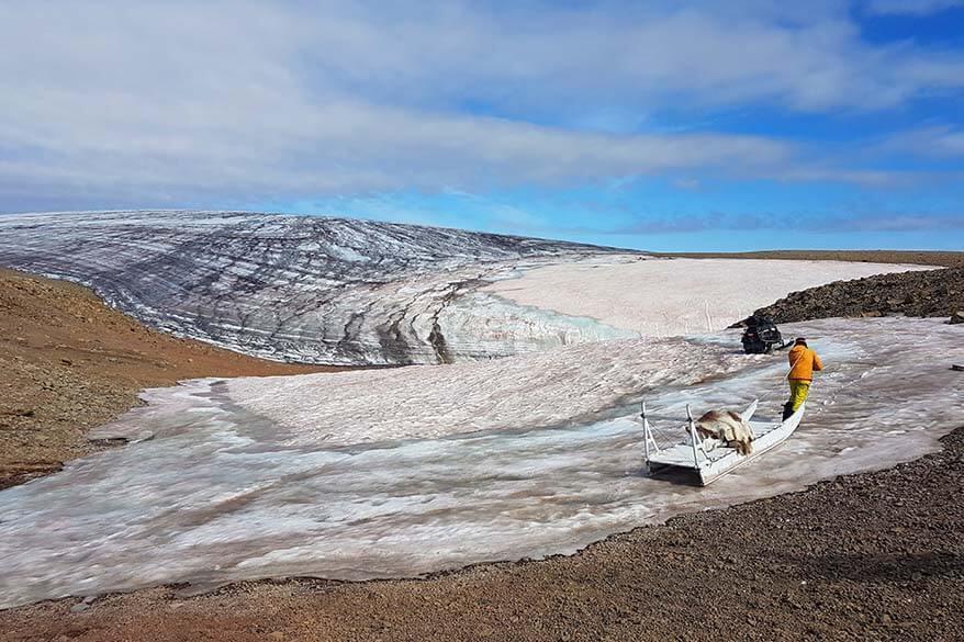Lyngmark Glacier