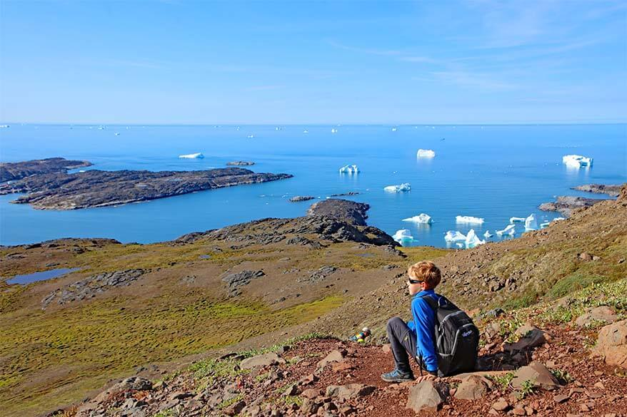 Lyngmark Glacier hike is one of the best things to do on Disko Island in Greenland