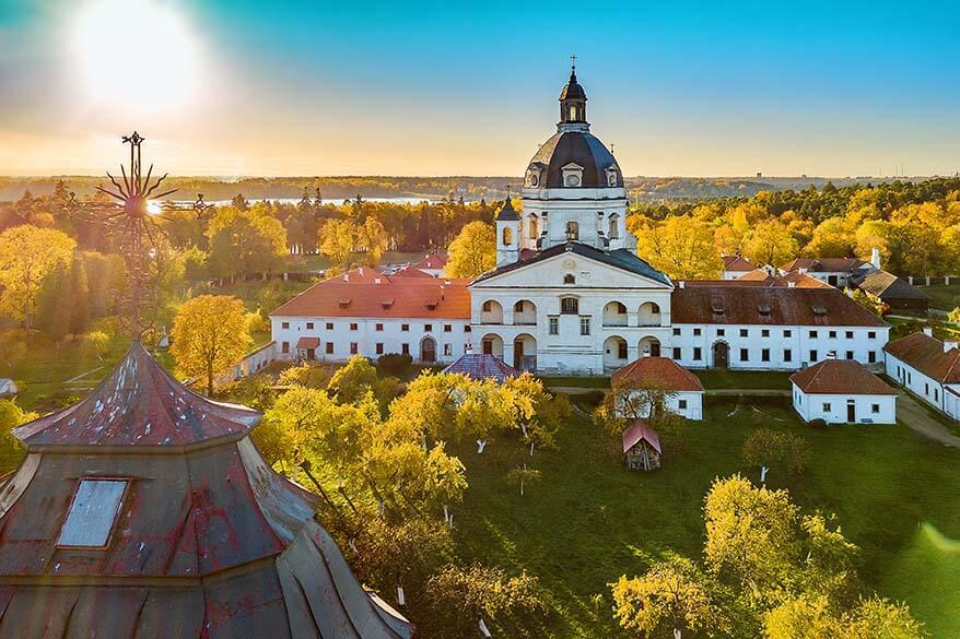 Pazzaislis Monastery - one of the best places to visit in Lithuania