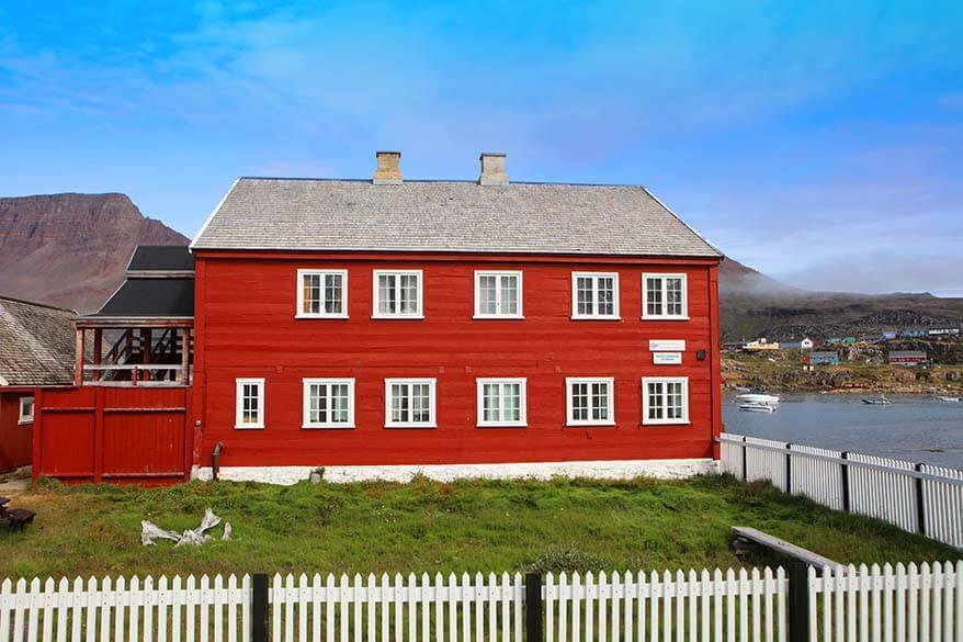 Qeqertarsuaq Museum - Disko Island, Greenland