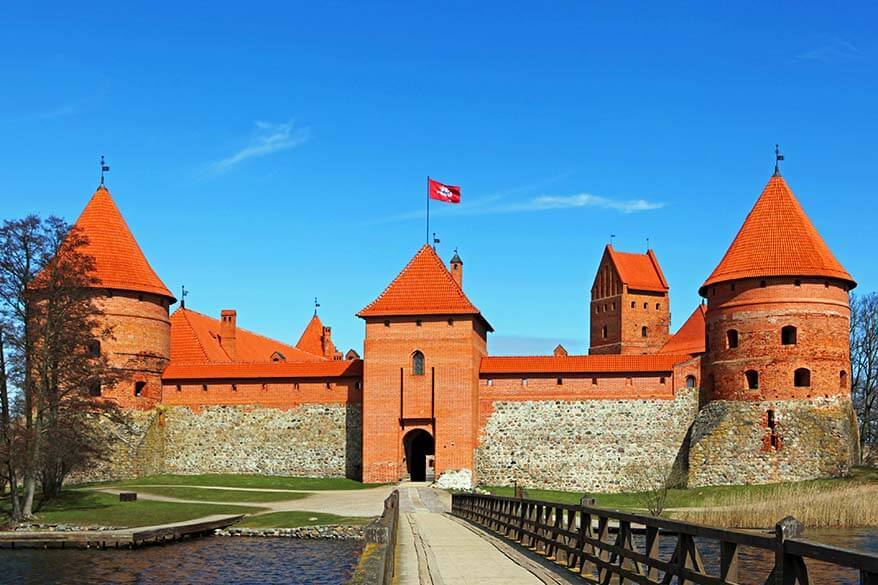 Trakai Island Castle is one of the very best places to see in Lithuania