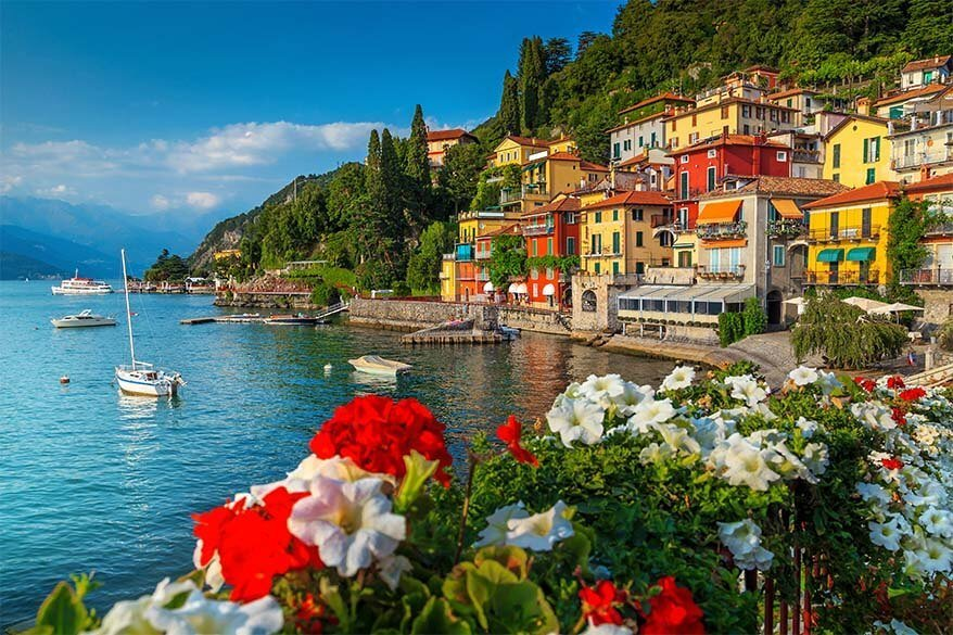 Varenna is one of the most beautiful and the best towns to stay in Lake Como Italy