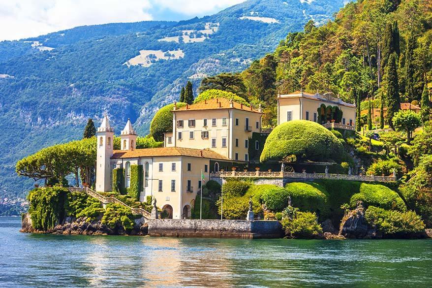 Villa del Balbinello in Lenno, Lake Como Italy