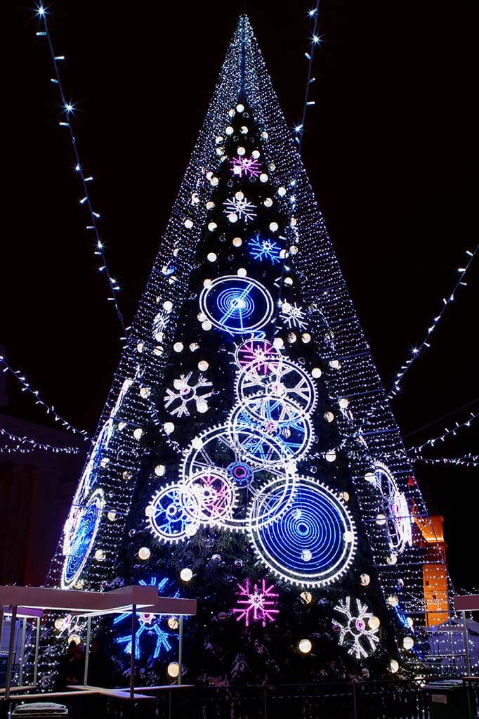 Vilnius Christmas tree 2018