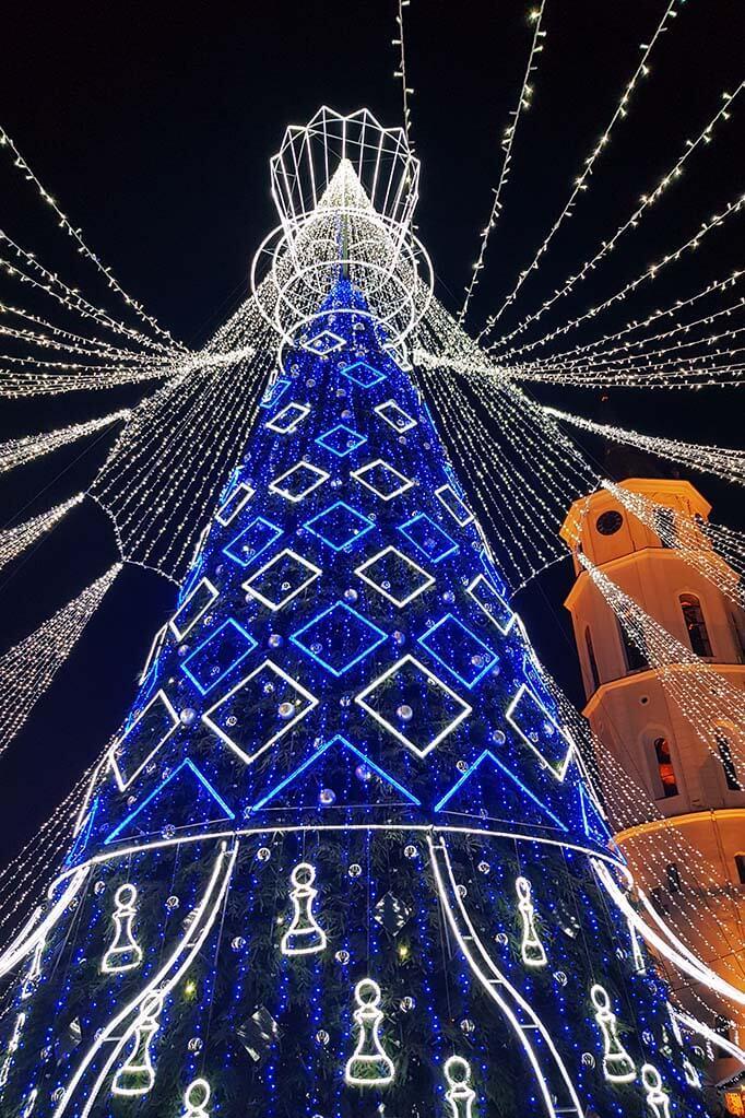Vilnius Christmas tree 2019