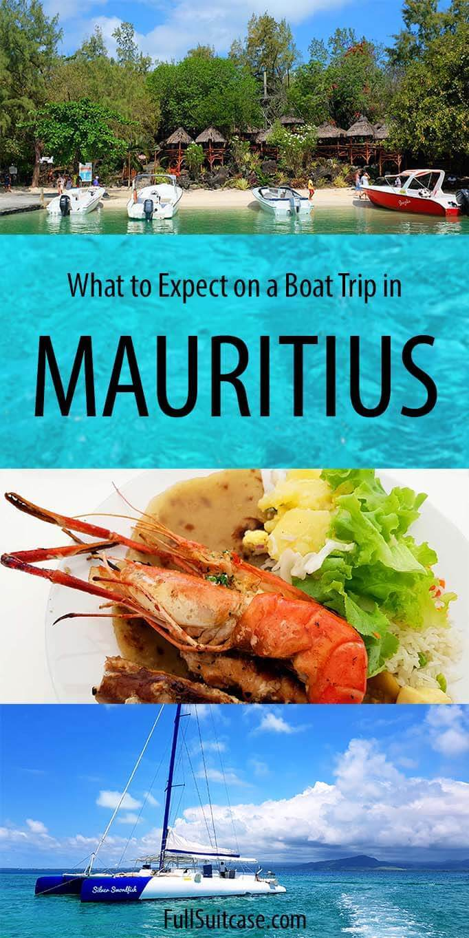 What to expect on Mauritius boat trip or a catamaran cruise