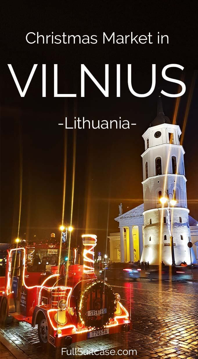 What to expect when visiting Christmas market in Vilnius Lithuania