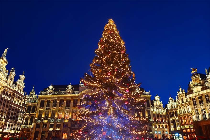 What to know when visiting Brussels Christmas Market - review, map, practical information, and tips
