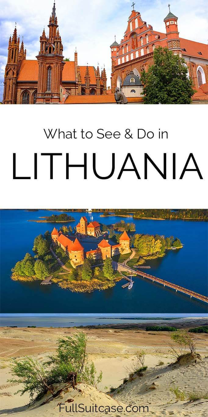 Where to go in Lithuania - best places to visit and things to do