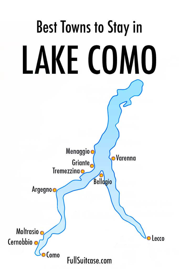 Where to stay in Lake Como - best towns