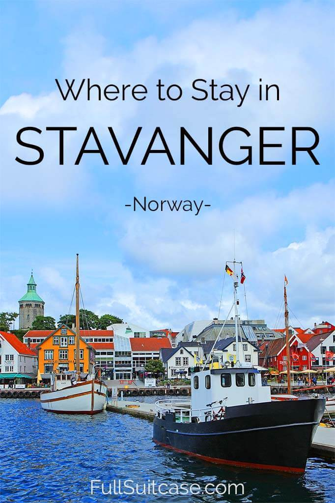 Where to stay in Stavanger Norway - best hotels and accommodations for all budgets