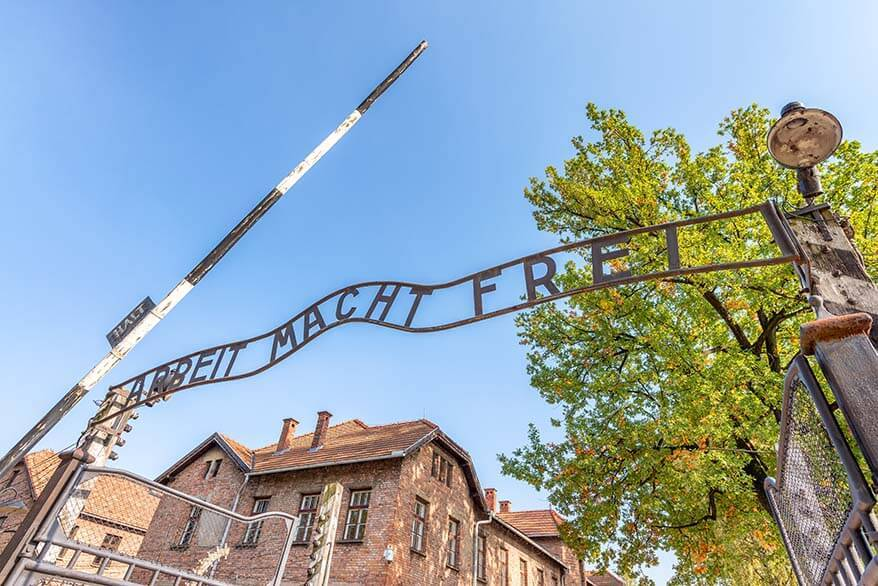 Auschwitz Birkenau Concentration Camp - most popular day trip from Krakow in Poland