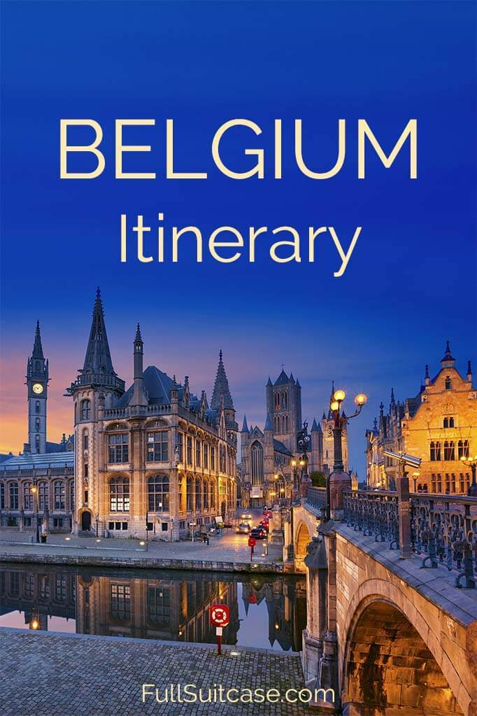 Belgium itinerary