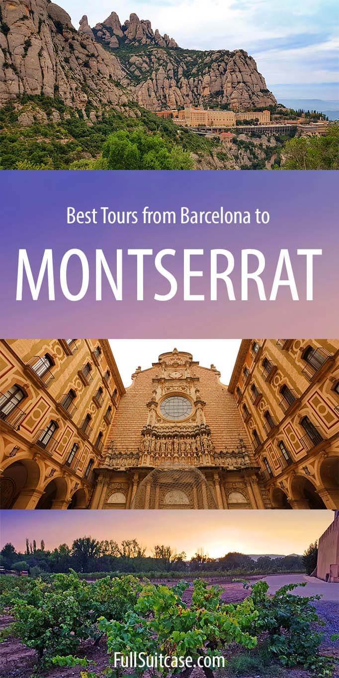 Best excursions and tours to Montserrat from Barcelona