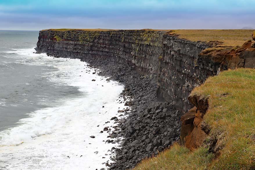 Best places to see in Iceland - Krysuvikurberg Cliffs on Reykjanes Peninsula