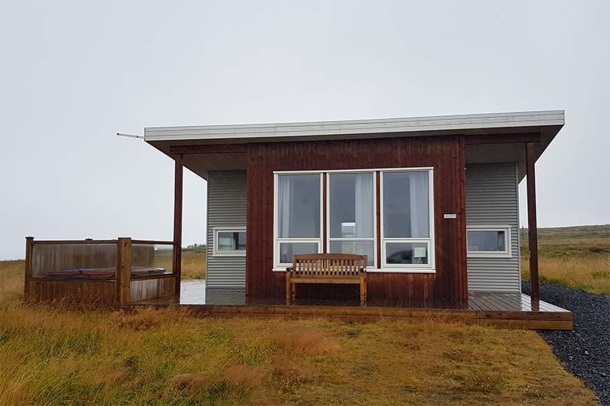 Cabin with a private hot tub - Golden Circle accommodation, Iceland