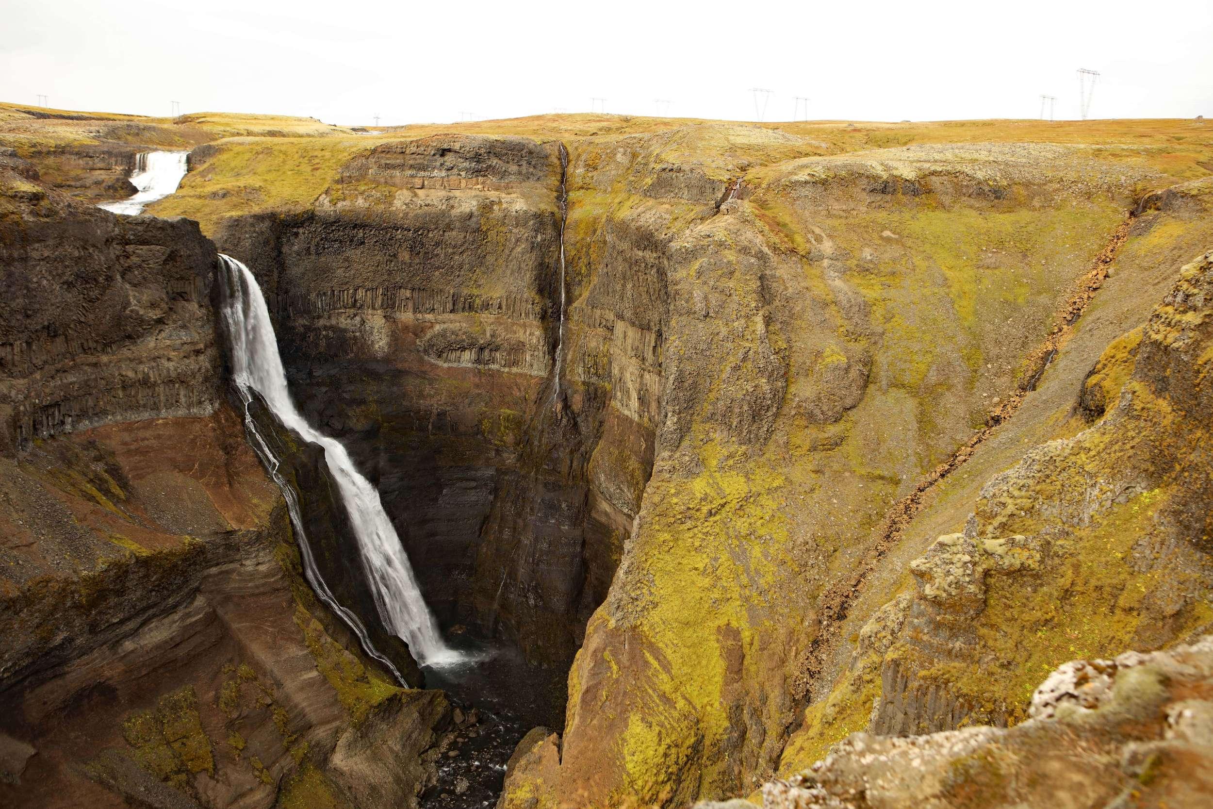 Granni waterfall in Iceland