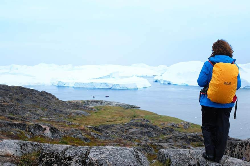 Greenland packing list for June, July and August