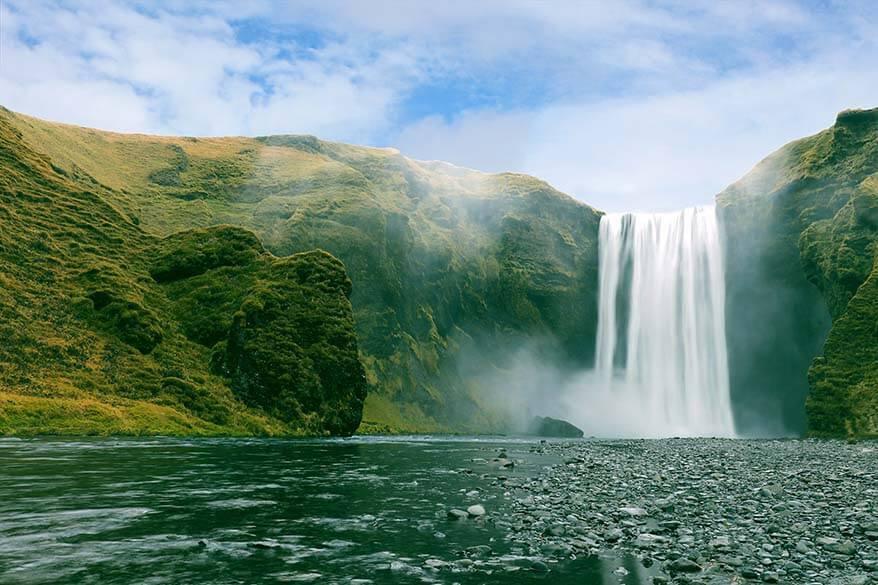 Iceland must see - Skogafoss waterfall