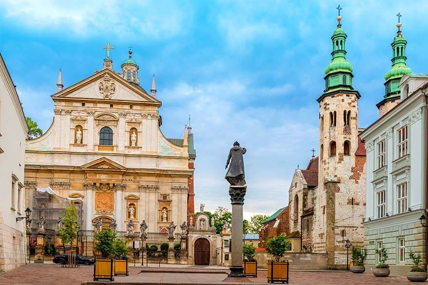 Krakow Old Town - Church of SS Peter & Paul and St Andrew's Church