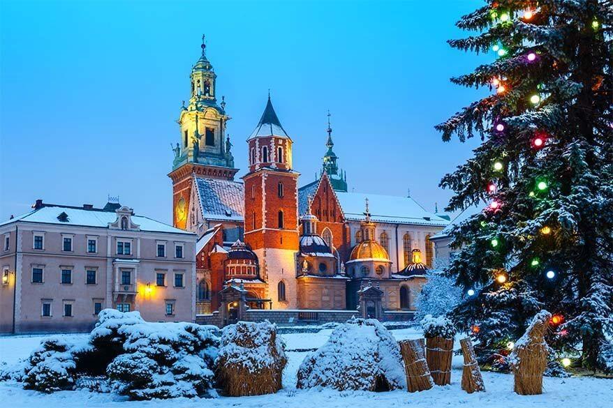 Krakow weekend break in winter
