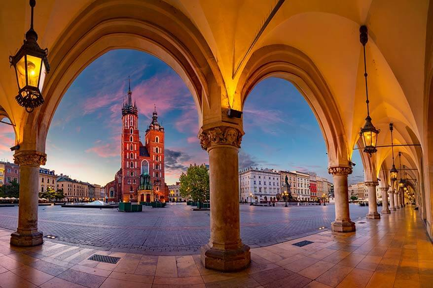 Krakow weekend break - things to do and itinerary for 2 to 3 days
