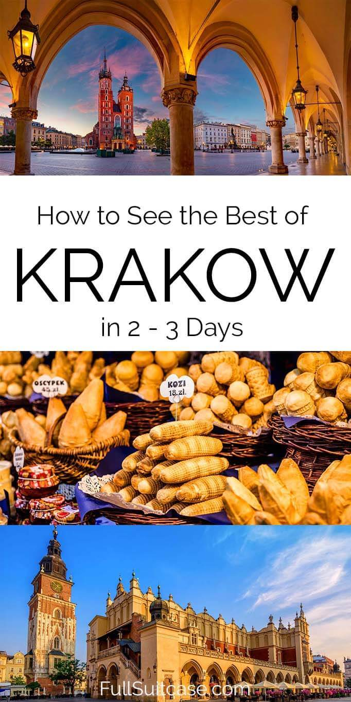 Krakow weekend itinerary - things to do and practical tips