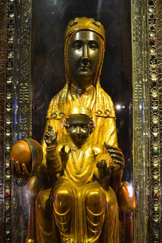 La Moreneta - Our Lady of Montserrat
