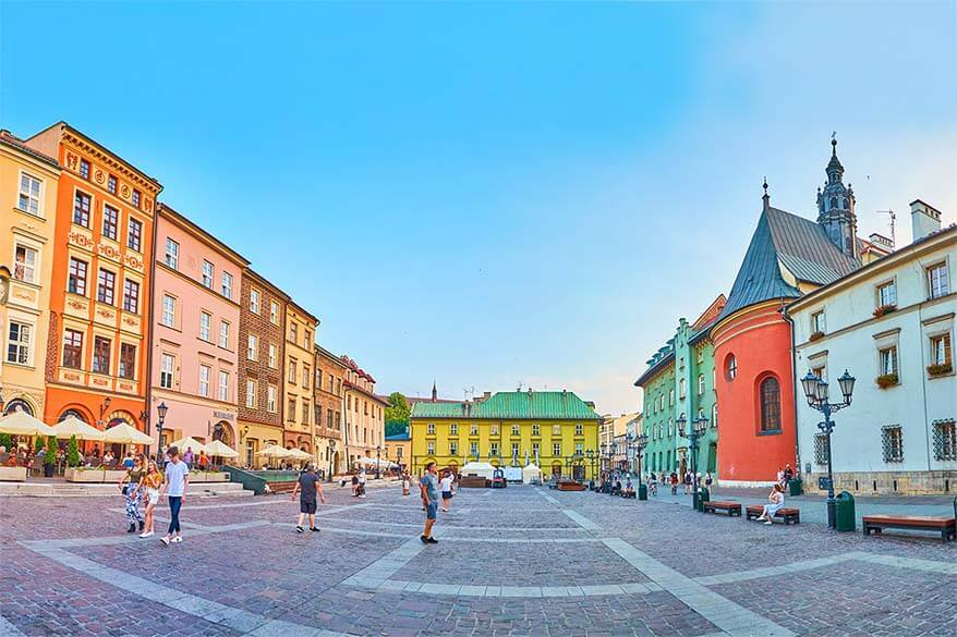 Maly Rynek in Krakow