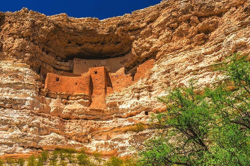 Montezuma Castle is not to be missed on the way from Phoenix to Sedona, AZ