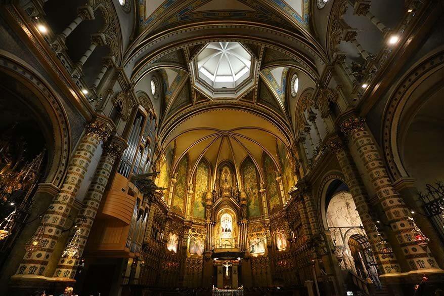 Montserrat church is must see in Montserrat Monastery