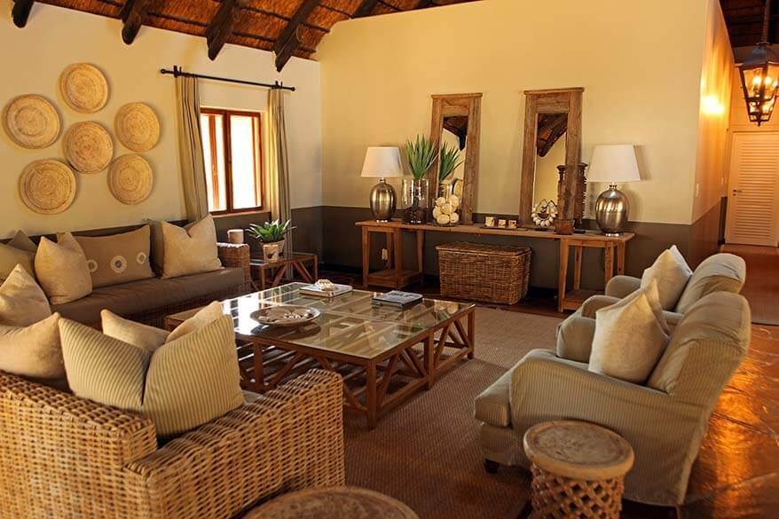 Mushara Lodge near Etosha NP in Namibia