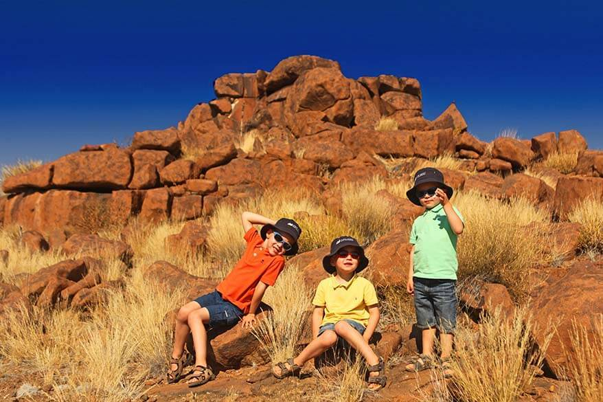 Namibia family vacation