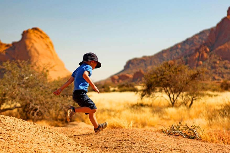 Namibia is fun for children