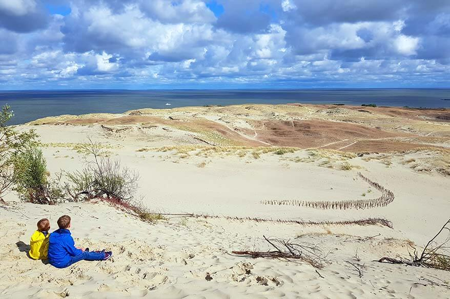 Parnidis Dune - best place to see in Nida Lithuania
