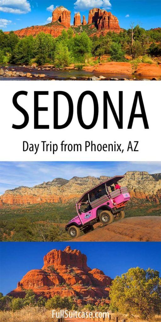 Phoenix to Sedona day trip itinerary and practical tips