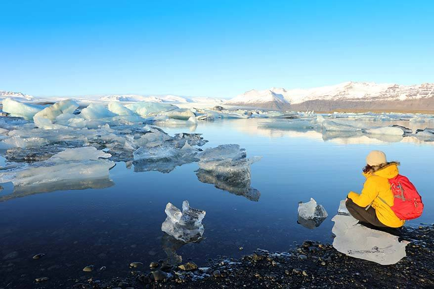 Places to visit in Iceland - Jokulsarlon glacier lagoon