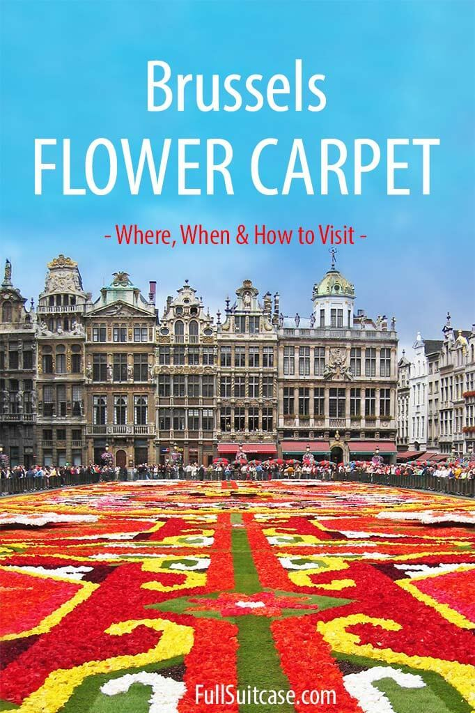 Plan your perfect visit to Brussels Flower Carpet with this guide