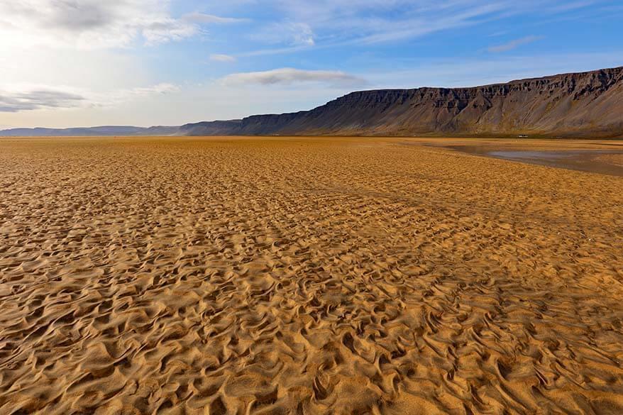 Raudasandur Beach - Westfjords, Iceland