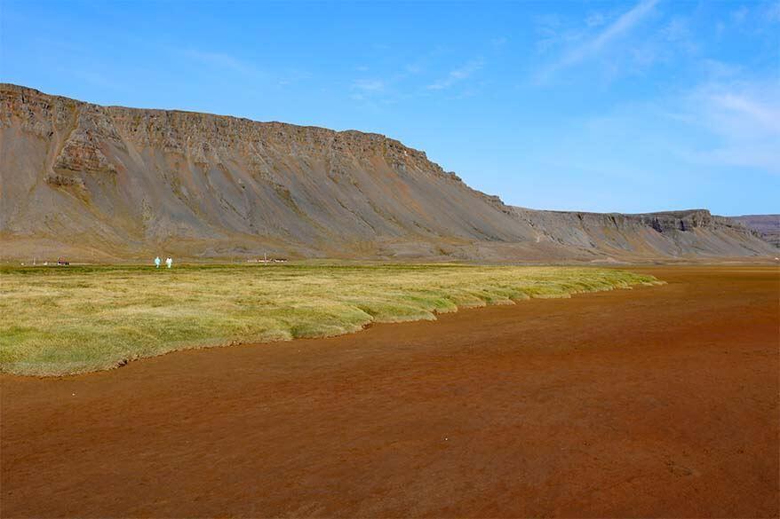Raudasandur Beach in Iceland