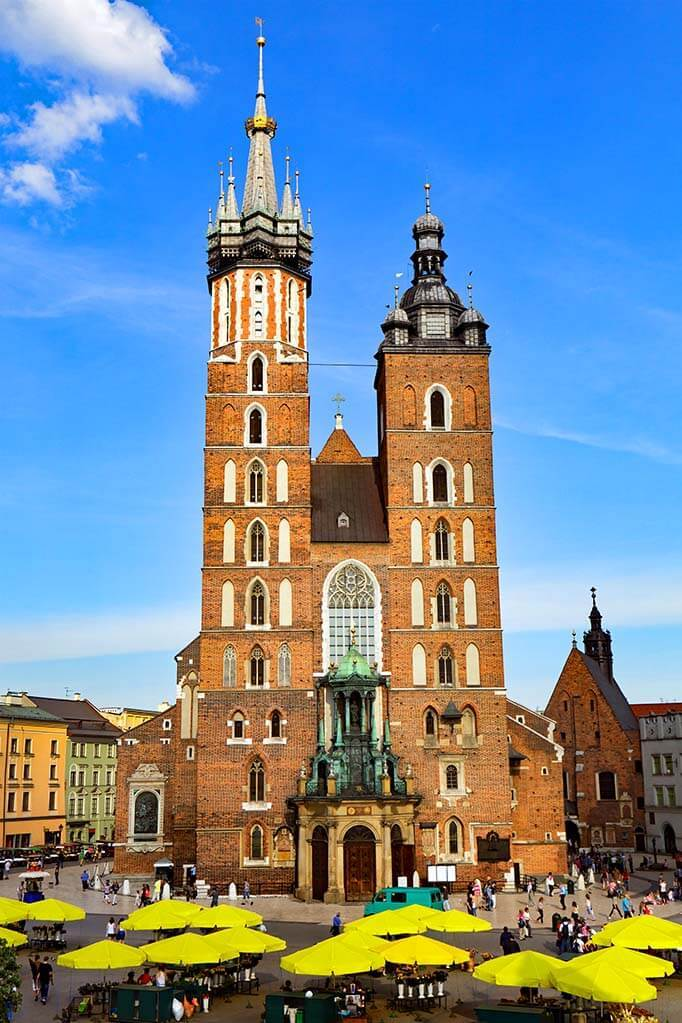St Mary's Basilica in Krakow