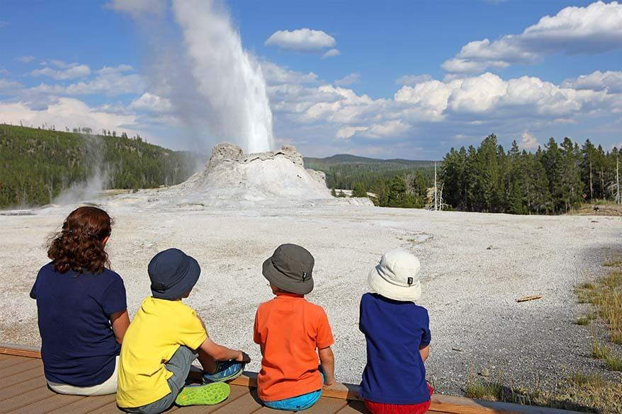 Summer is the best time to visit Yellowstone