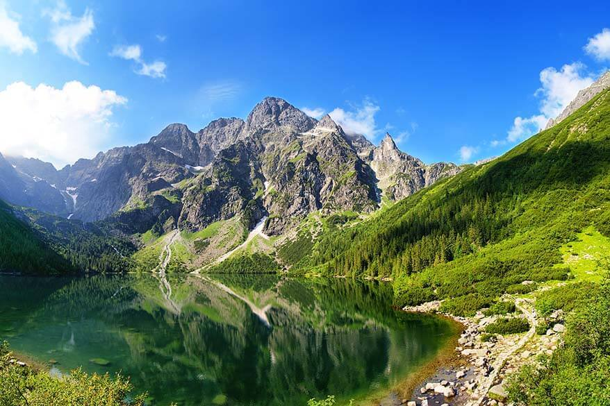Tatra mountains in Poland - great day trip from Krakow