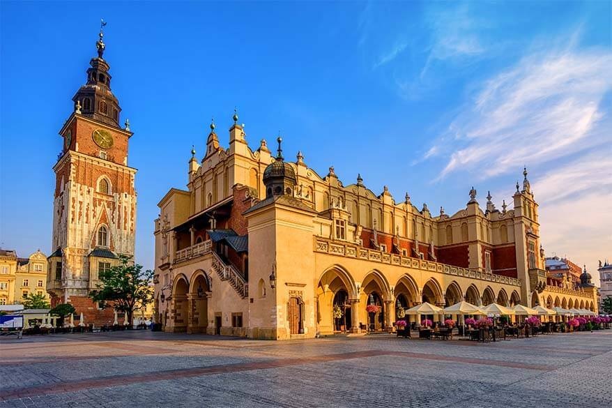 The Cloth Hall on the Market Square in Krakow