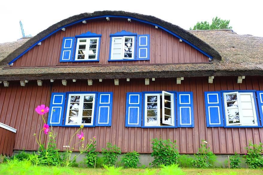 Thomas Mann House Museum in Nida Lithuania